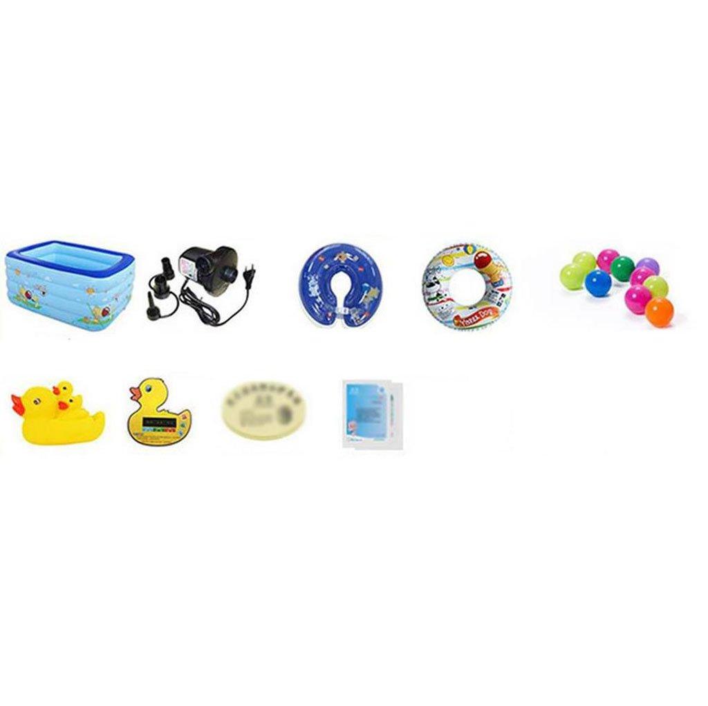 LYM LYM LYM Badewanne Baby Schwimmbad Neugeboren Dicker Isolierung Waschbecken Inflated Schwimmen Eimer Portable Badewanne Faltbare Dusche Badfässer (Ausgabe   Package C, größe   182  145  80  23CM) 84ad84