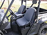 Rugged Ridge 63240.09 Gray Fabric Seat Cover with Headrest Cover for Yamaha Rhino - Pair