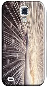 Samsung Accessories Beautiful Peacock Cell Phone Cases Design Special For Samsung Galaxy S4 i9500 No.1