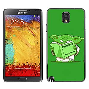 Hot Style Cell Phone PC Hard Case Cover // M00103587 quotes book yoda read // Samsung Galaxy Note 3