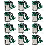 Anchor Pots for Auto Body Frame Machines and Pulling Posts (12pk)