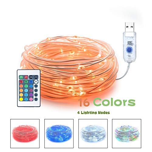 100 Led C 5 Holiday Christmas Lights Multi Color in US - 9