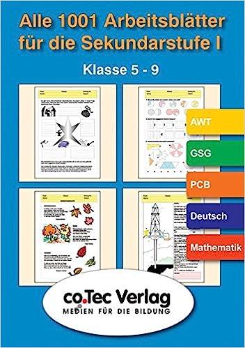 Alle 1001 Arbeitsblätter für die Sekundarstufe 1: Klasse 5-9 ...