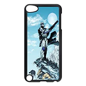 Star War Plastic Customized Cover Hard Case FOR Ipod Touch 5 TPUKO-Q855641
