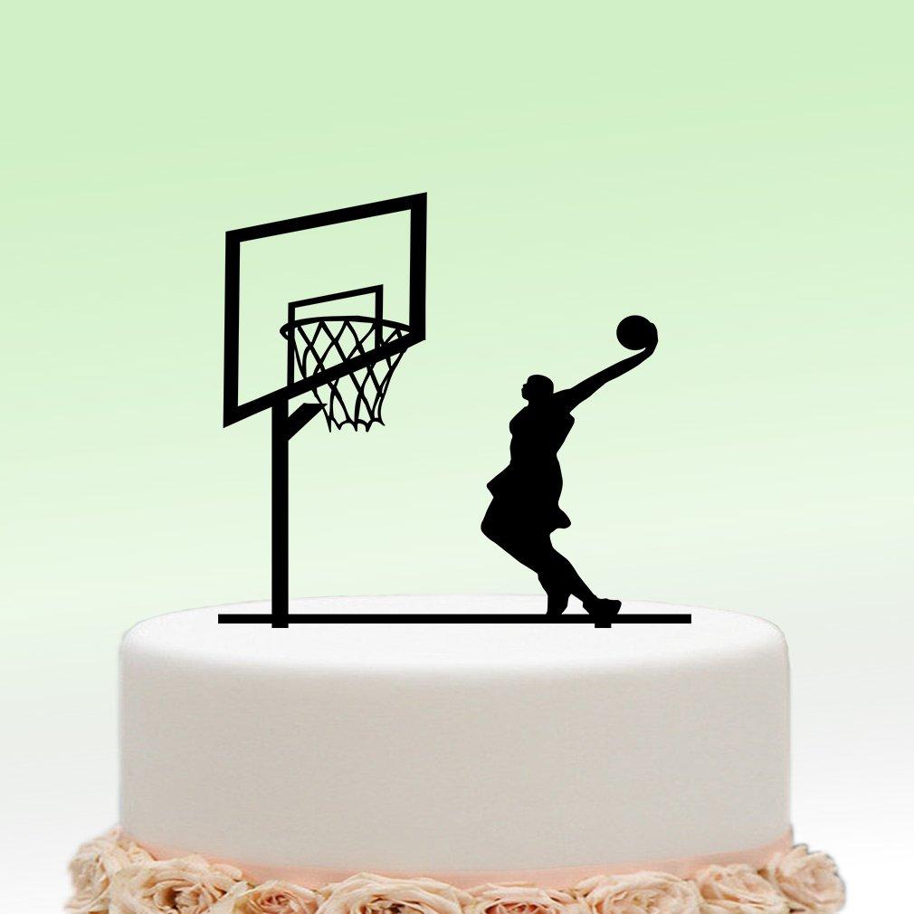 Baloncesto de pasteles ivisi Boy cumpleaños Decoración Regalos ...
