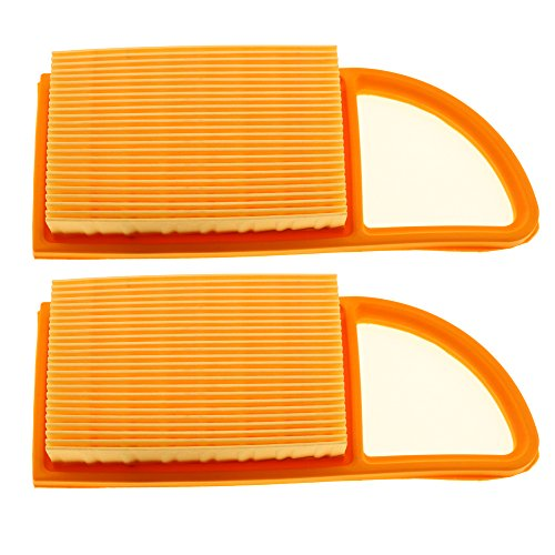 - HIPA 2 Pack Air Filter for Stihl BR600 BR550 BR500 Backpack Blower # 4282 141 0300, 4282 141 0300B