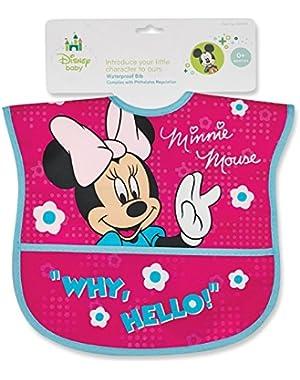 Minnie Mouse Water-Proof Bib