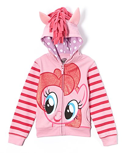My Little Pony Toddler Girls' Pinky Pie Hoodie,Pink/Multi,4T