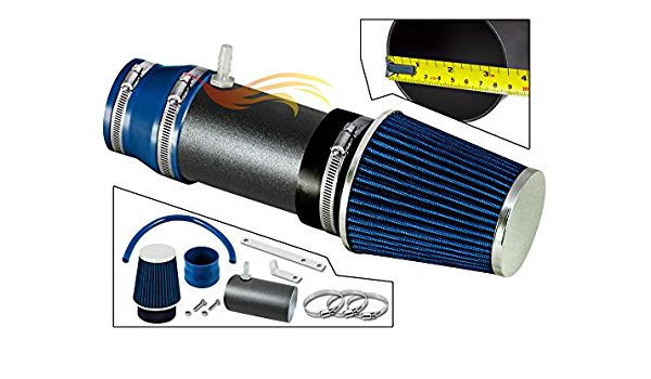 Rtunes Racing Cold Air Intake Kit 07-08 Acura TL TypeS Filter Combo BLUE For 04-08 Acura TL 3.2L 03-07 Honda Accord V6 3.0L