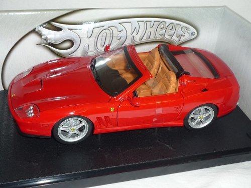 Mattel Ferrari Superamerica Foundation Cabrio Rot 1/18 Hot Wheels Modellauto Modell Auto