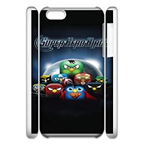 iphone5c 3D Cell Phone Case White Angry Birds Plastic Durable Cover Cases derf6000015