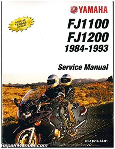 Book LIT-11616-FJ-01 1984-1993 Yamaha FJ1100-FJ1200 Motorcycle Service Manual