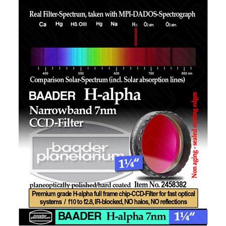 Baader Narrowband H-Alpha (7nm) CCD Filter - 1.25'' # FHALN-1 2458382 by Baader Planetarium