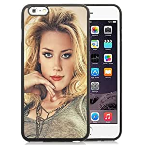New Personalized Custom Designed For iPhone 6 Plus 5.5 Inch Phone Case For Amber Heard Paint Phone Case Cover