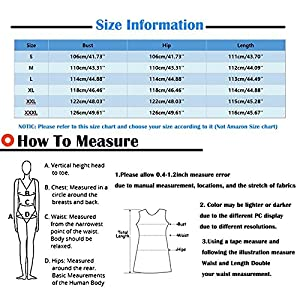 ❤【Satisfactory Service】We strive to ensure that you are 100% satisfied. If you have any questions please contact us , and we will try our best to provide you with satisfactory and friendly services. ❤【Shipping】Standard shipping:7-15 Days. 48 Hours Shipping. 💕Please refer to our accurate size chart provided in product images or description. (Not Amazon Size Chart)