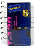 Blockbuster T-120 High Standard Videocassette Blank Tape - 6 Hours