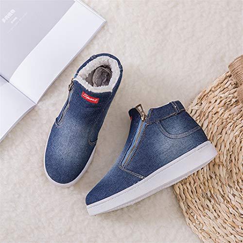 Sperrins Neige Hiver Course Sneakers Femme De Bottes Bleu Chaussure Jean Foncé Sport 54AjLR