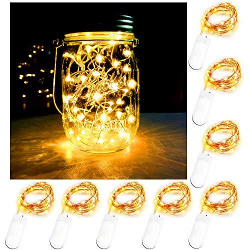 fairy jar lights - 2
