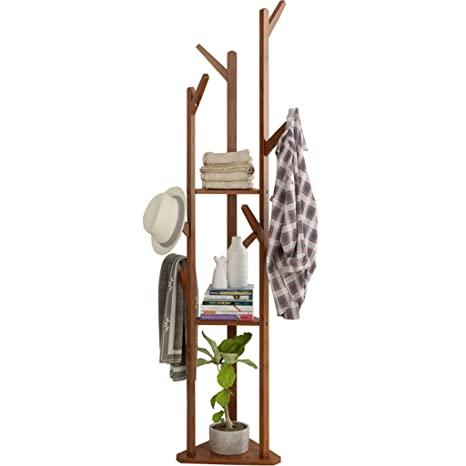 Amazon.com: LXJYMXModern Floor Cap and Coat Rack Hanger ...
