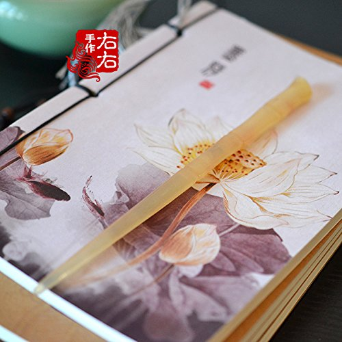 Chinese Jewellery Beautiful (usongs Retro-style dish made beautiful bride archaic Chinese clothing accessories hair jewelry natural bamboo horns Bob)