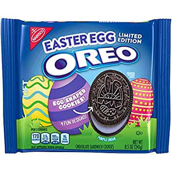 Oreo Easter Egg Limited Edition Cookies 8 5 Oz Package Amazon Com