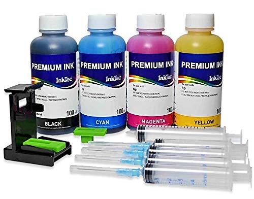 Кit Carga Cartuchos HP N ° 62 Negro y Color, Tinta impresión ...