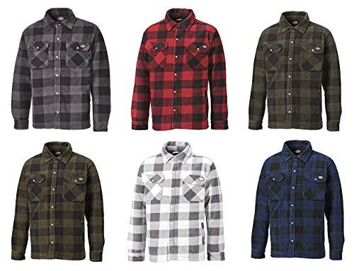 Dickies Portland SH5000, Thermo Shirt de différentes Couleurs Tailles,  Chemise Lumberjack Chemise du Travail Veste d automne Veste d hiver   Amazon.fr  ... 0239d9cb66cd