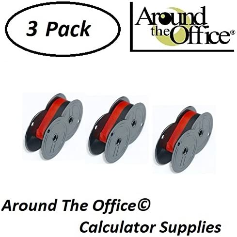 Around The Office Compatible Package of 3 Individually Sealed Ribbons Replacement for Sharp CS-2152-S Calculator