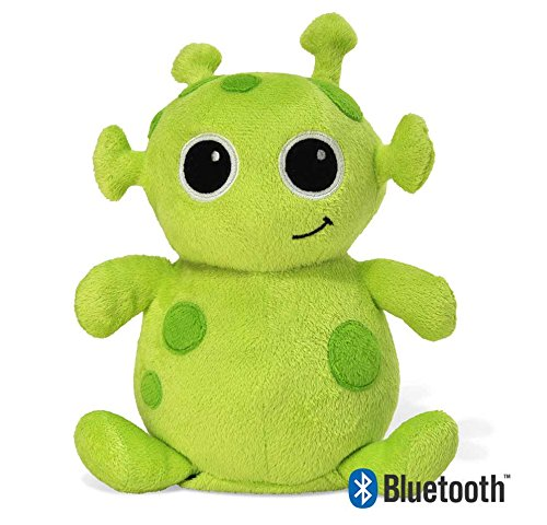 Cloud b Beebop Alien with Bluetooth Speaker Nightlight and White Noise Machine, Green