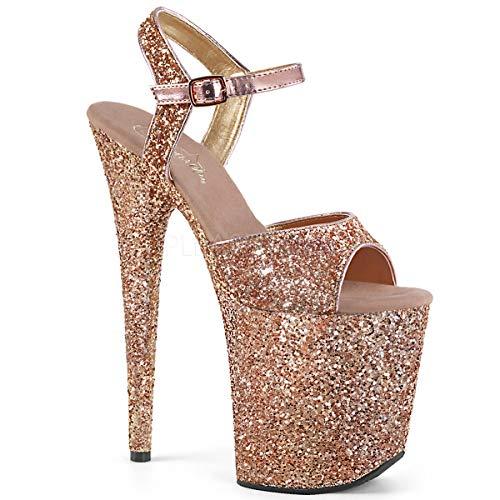 Exotic Ankle Strap - Pleaser Women's Flamingo-810LG Ankle-Strap Sandal