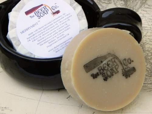 Merrymint Beer Soap - Made with Sierra Nevada Celebration (Sierra Nevada Celebration Ale)