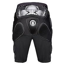 WOLFBIKE Brand Motorcycle Armour Mountain Bike Leg Protective Shorts for Man BMX Gear Pants Ski Mrmor Pad