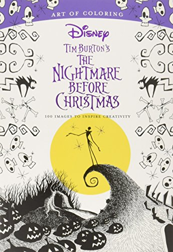 Art of Coloring: Tim Burton's The Nightmare Before Christmas: 100 Images to Inspire -