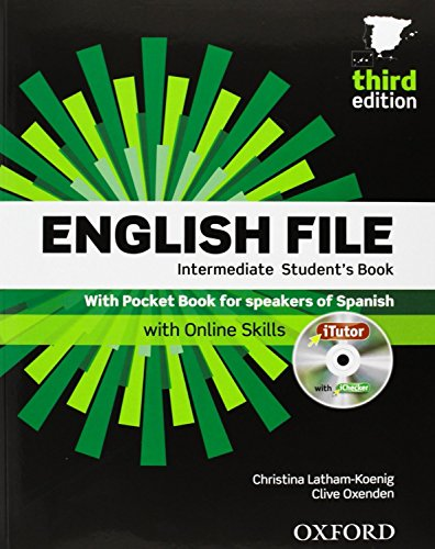 English File 3rd Edition Intermediate. Student's Book, iTutor and Pocket Book Pack (English File Third Edition)