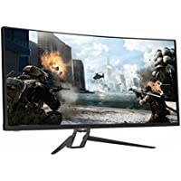 Crossover Display TIO UW3535 HDR 100 Curved, 35 WQHD (3440x1440) Curved Gaming Monitor, DP 1.4 /HDMI 2.0, Cross Hair, 120Hz Boost Clock, Freesync, Low Blue Light/Flicker Free, HDR Compatible