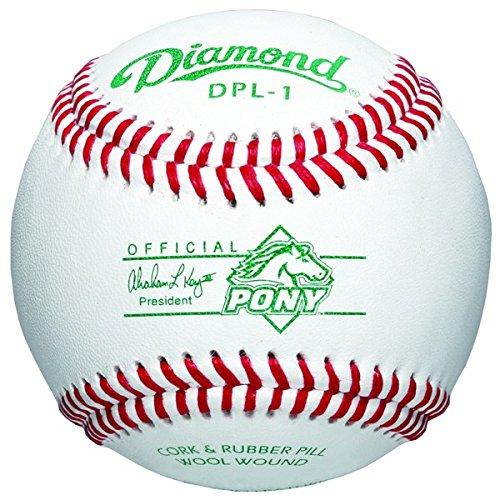 Diamant 6-gallon Ball Eimer Eimer Eimer mit 30 dpl-1 Pony League Basebälle B072S51LLP Blle Schöne Farbe 555027