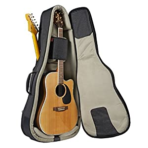 music area tang30 double gig bag acoustic guitar x1 and electric guitar x1. Black Bedroom Furniture Sets. Home Design Ideas