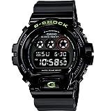 Casio #DW6900SN-1 Men's Classic Black Mirror Metallic Chronograph Alarm G Shock Watch, Watch Central