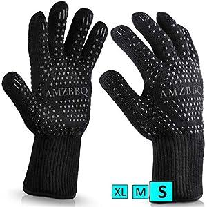 AMZBBQ, guanti da griglia di qualità premium 1 spesavip