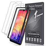 LK [3 PACK Screen Protector for Xiaomi Redmi Note 7 [Tempered Glass][Case Friendly] DoubleDefence Technology [Alignment Frame Easy Installation] [3D Touch] with Lifetime Replacement Warranty