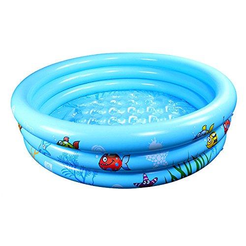 LybCvad - Baño Hinchable para bebé (10 cm), Color Azul ...