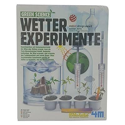 4M - 68474 - Green Science - Expériences Météorologiques