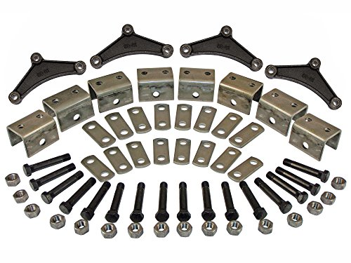 Triple Axle Hanger Kit (EK3-D300) For Double Eye Springs (Triple Axle Hanger)