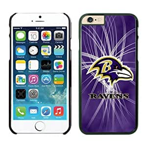 NFL Baltimore Ravens iPhone 6 Plus Case 17 Black 5.5 Inches NFLIphone6PlusCases13452 by kobestar