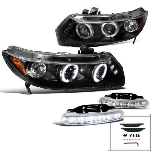 08 civic coupe headlights - 4