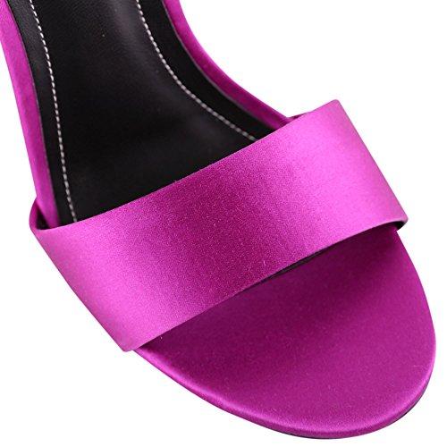 Violet Femme Tissu Sandales Kendall KKEMILEEMAGENTA Kylie 71wqxPntUS