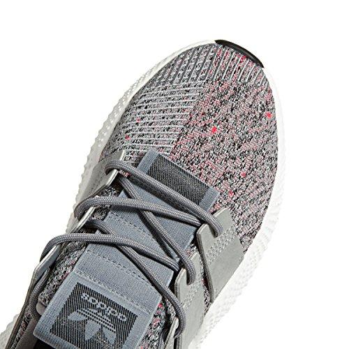 adidas Prophere, Zapatillas de Deporte Para Hombre, Gris (Gritre/Ftwbla/Rojsol 000), 47 1/3 EU Gris (Gritre / Ftwbla / Rojsol 000)