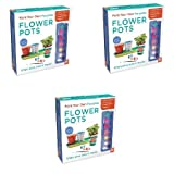 Paint Your Own Porcelain: Flower Pots - 3 Packs
