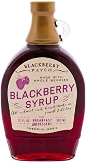 product image for BLACKBERRY PATCH Whole Blackberry Syrup, 12 FZ