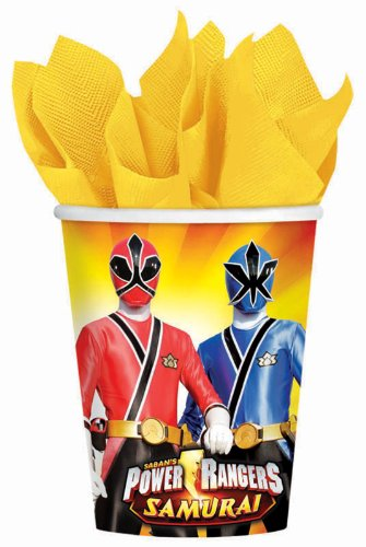 Power Rangers Samurai 9oz Paper Cups